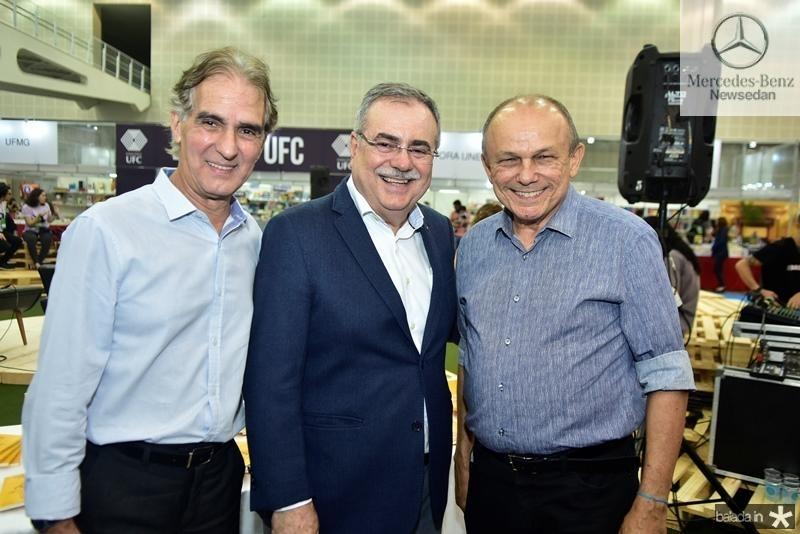 Antonio Carlos Rodrigues, Assis Pinheiro, Honorio Pinheiro