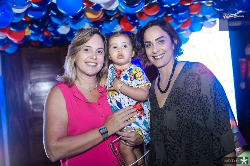 Patricia Grock, Maju e Andrea Peixoto