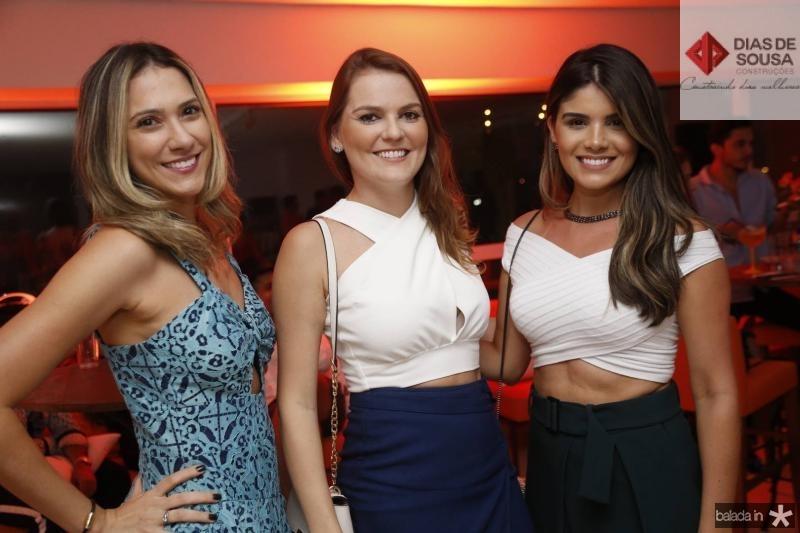 Gisele Azim, Bruna Rocha e Samira Costa