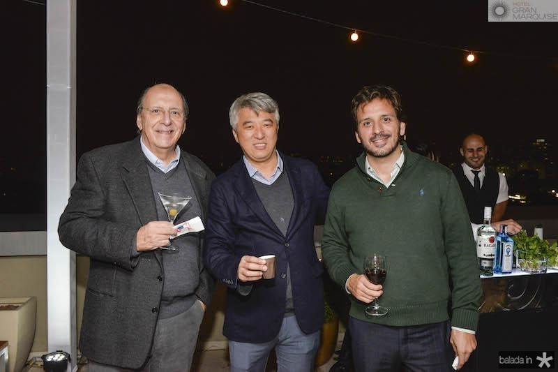 Carlos Eduardo Toro, Felipe Kin, Jose? Toro