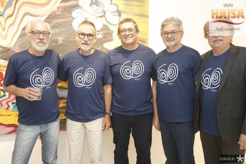 Silas de Paula, Ricardo Rodrigues, Jose Guedes, Nilton Almeida e Padua Araujo