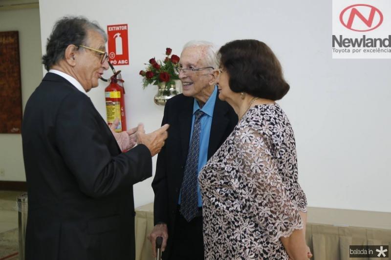 Arialdo Pinho, Isnelio Fiuza e Edgone Bezerra