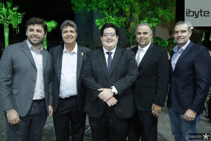 Joao Lucas, Marcos Oliveira, Yuri Torquato, Valdisio Pinheiro e Luiz Eduardo Figueiredo