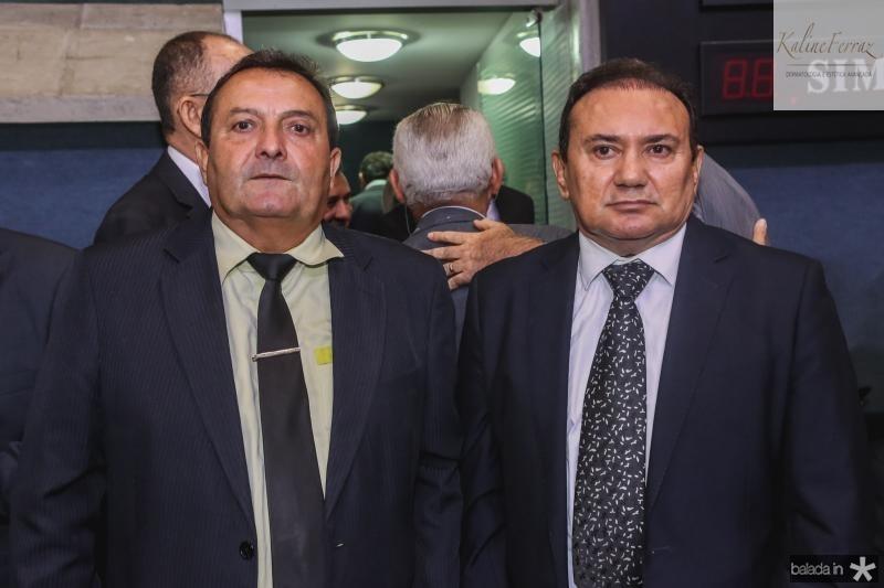 Alderir Sousa e Vincente Pinheiro