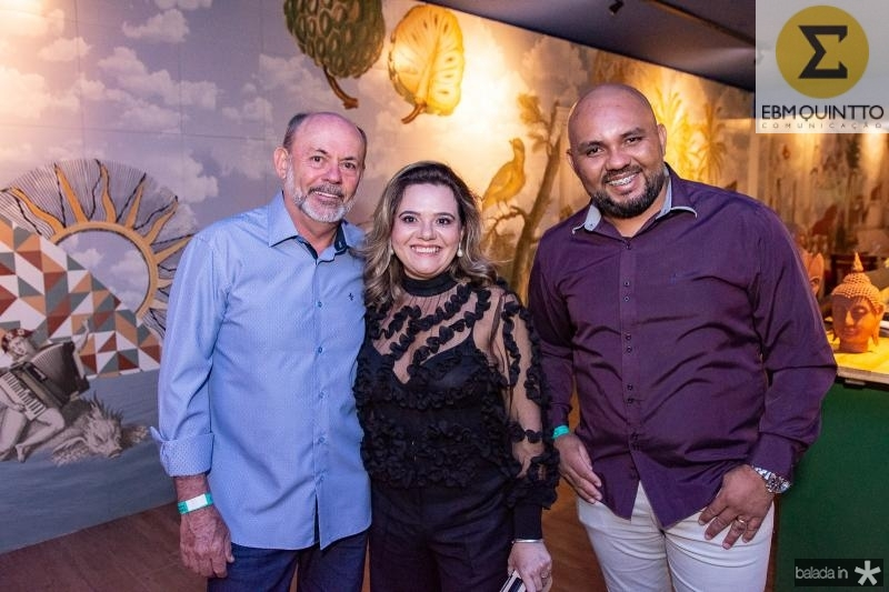 Nilton Menezes, Neile Aragao e Antonio Felix
