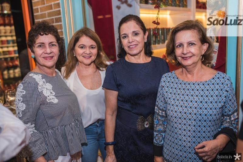 Graca Romcy, Nekita Romcy, Elusa Laprovitera e Norma Brasil
