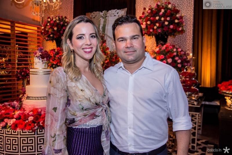Sabrina e Vitor Lima