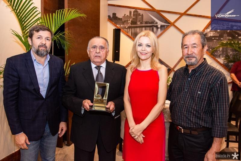 Elcio Batista, Joao Carlos Paes Mendonca, Ana Cristina Pedroso e Coronel Romero