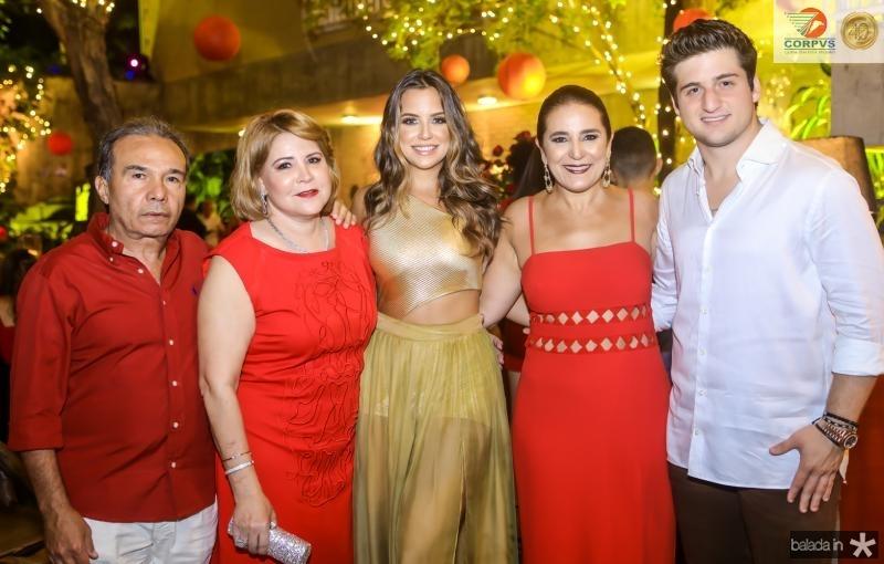 Claudio e Andrea Aguiar, Fernanda Levy, Patricia e Omar Macedo