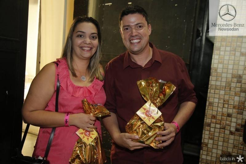 Samira Adriano e Alex Nogueira