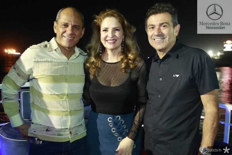 Mano Alencar, Enid Camara e Alexandre Pereira