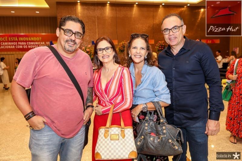 Hebert e Cris Velho, Elisa Mota e Helano Guilherme