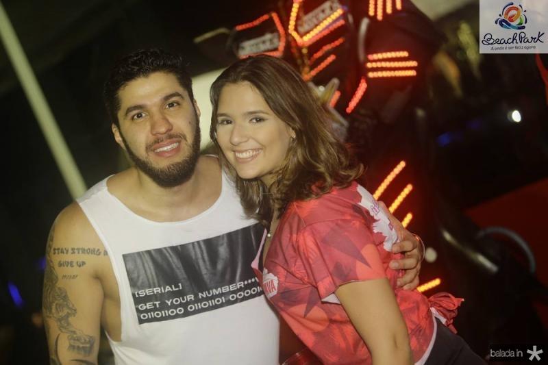 Felipe Feitosa e Liliana Cavalcante
