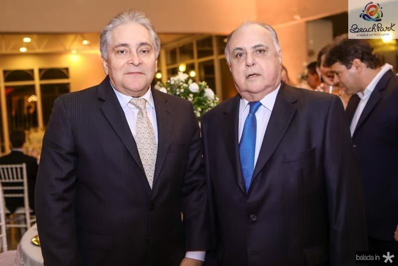 Luis Pontes e Roberto Pessoa