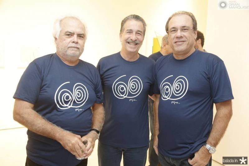 Rui Dias, Emilio Ary e Claudio Brasil