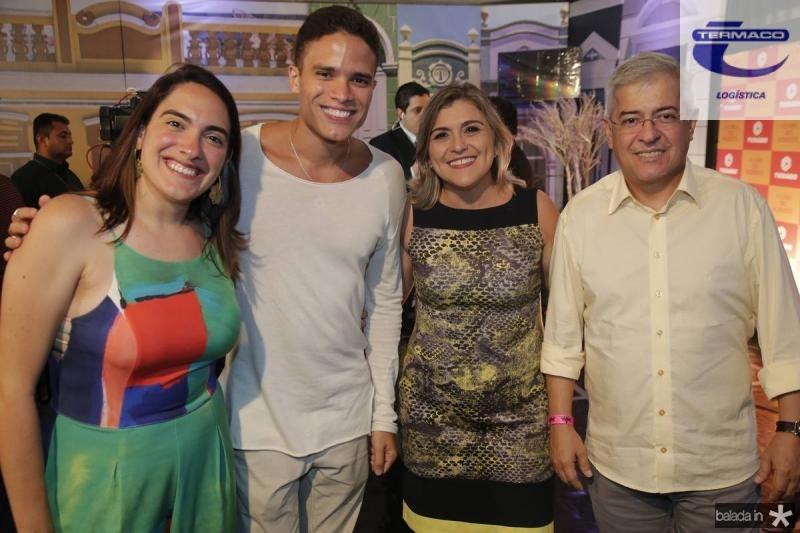 Rebeca Camara, Marcos Lessa, Simone Moraes e Paulo Cesar Noroes