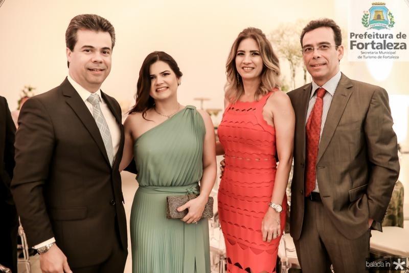 Duda e Ticiana Brigido, Karmilse e Gustavo Porto