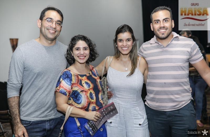 Raul Cabral, Isabel e Naiana Said, Saulo Medeiros