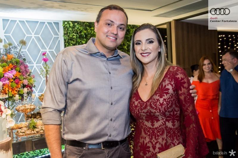 Rodrigo e Debora Issa