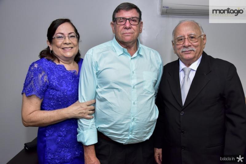 Fatima e Laerto Bastos e Jose Andrade