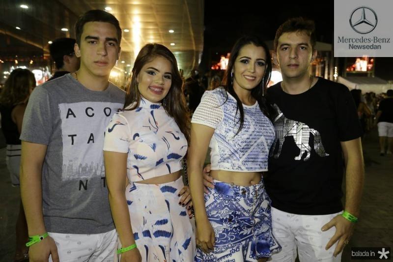 Antonio Airton, Sabrine Coutinho, Glauba Goncalves e Aristeu Coelho