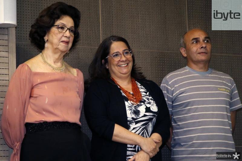 Alcilea Vieira, Ana Maria e Luiz Henrique
