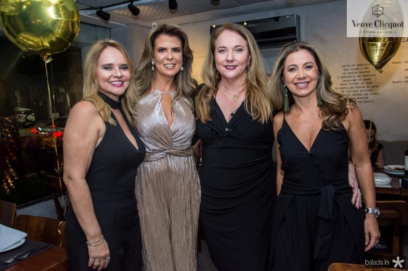 Ilda Pamplona, Alexandra Pinto, Luiziane Cavalcante e Sandra Machado