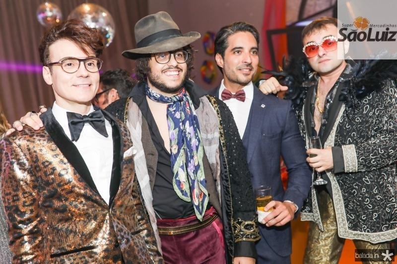 Rodrigo Maia, Kadeh Juaçaba, Rodrigo Porto e Ramiro Mendes
