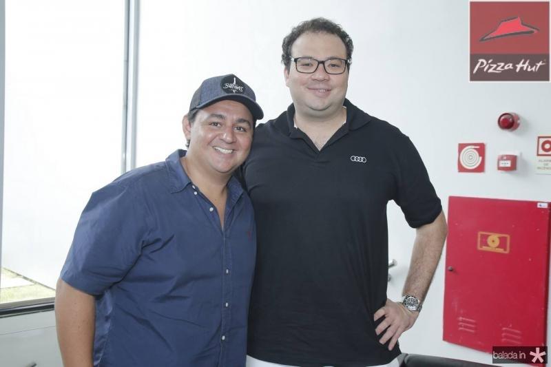 Marcelo Pimentel e Thiago Facanha