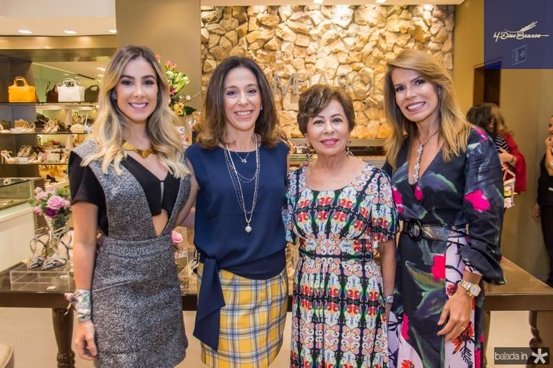 Priscilla Silva, Roberta Saad, Tane Albuquerque e Maira Silva