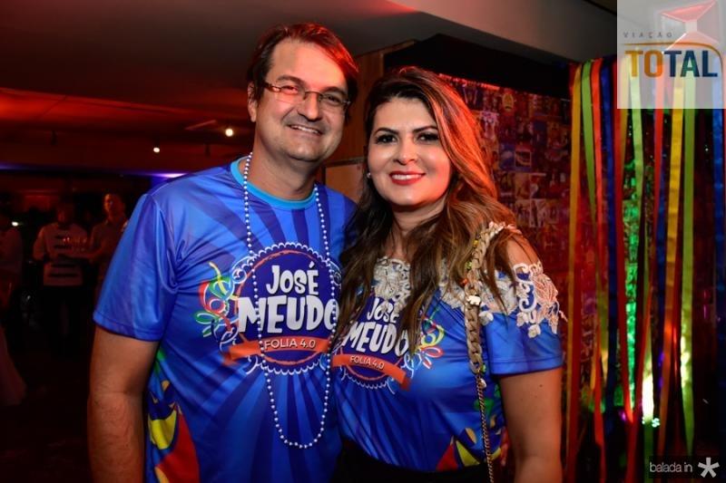 Edilso e Micheline Pinheiro
