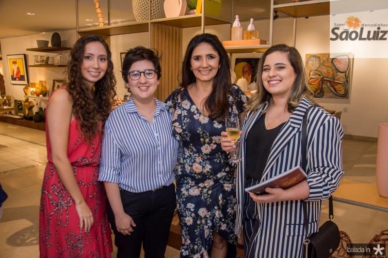 Marilia Cidrao, Azuhli, Luciana Cidrao e Mina Nobrega