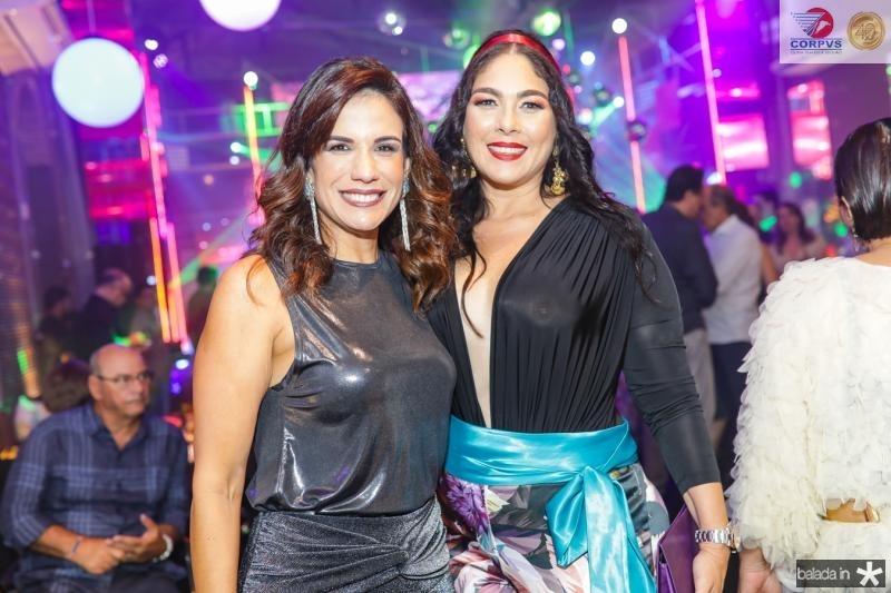 Ana Virginia Martins e Isabella Fiuza
