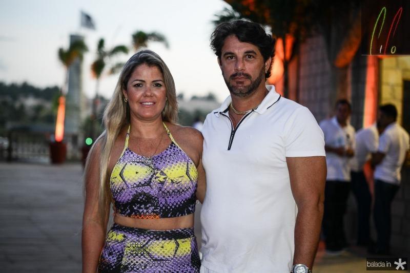 Sandra Materenzo e Caio Guimarães