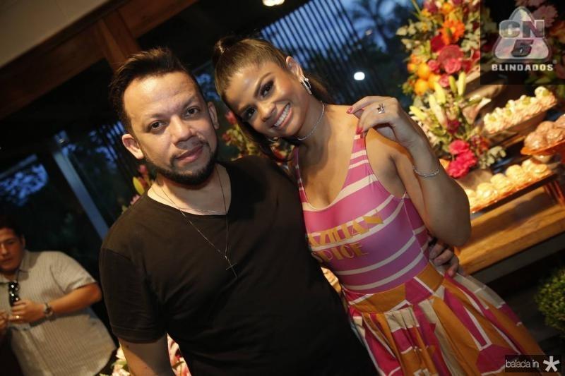 Roberto Alves e Isabelle Timoteo