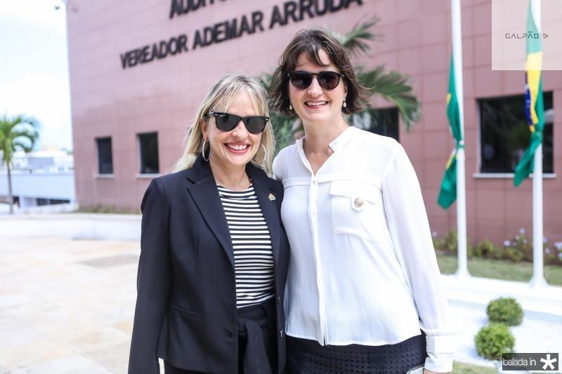 Paola Braga e Manoela Nogueira