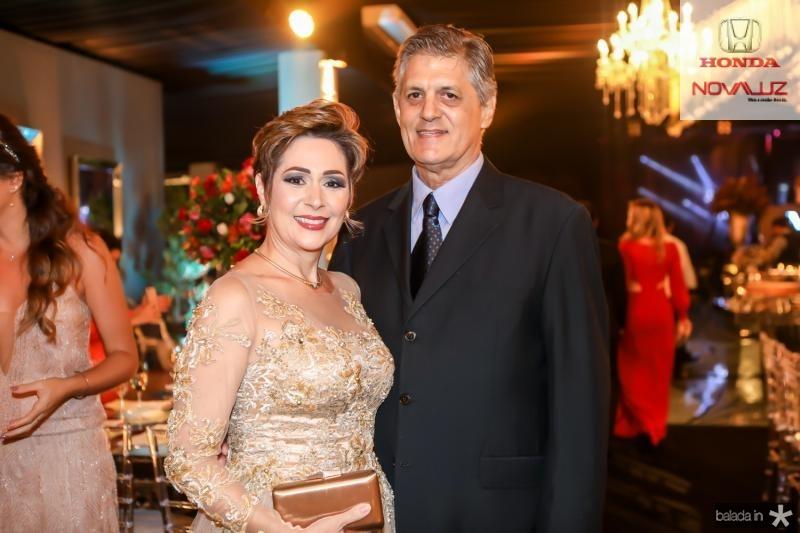 Larissa Rolim e Ricardo Bisio