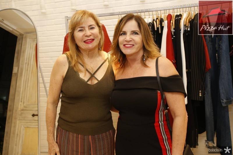 Rebeca Martins e Amazonia Albuquerque