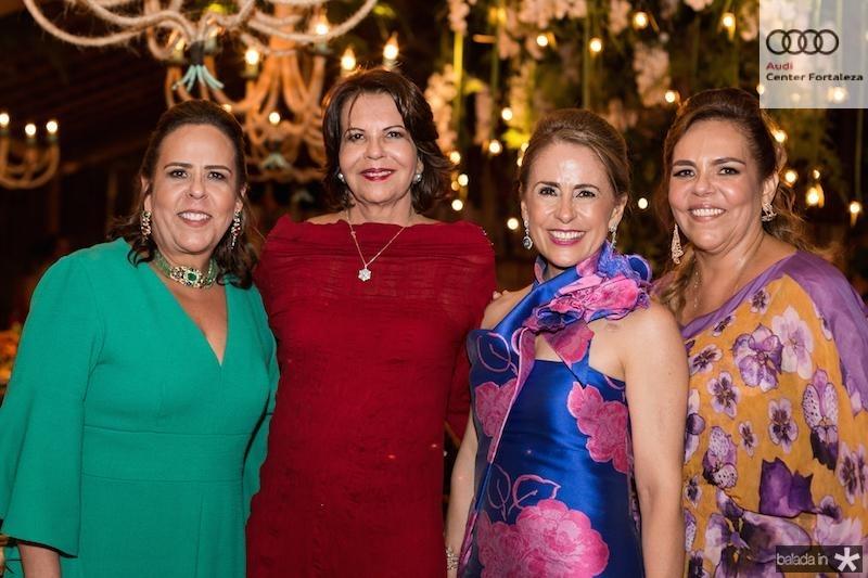 Liana Ximenes, Ana Fiuza, Tereza Ximenes e Ailza Ventura