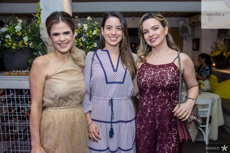 Niedja Bezerra, Ticiana Barreira e Daniela Barreira