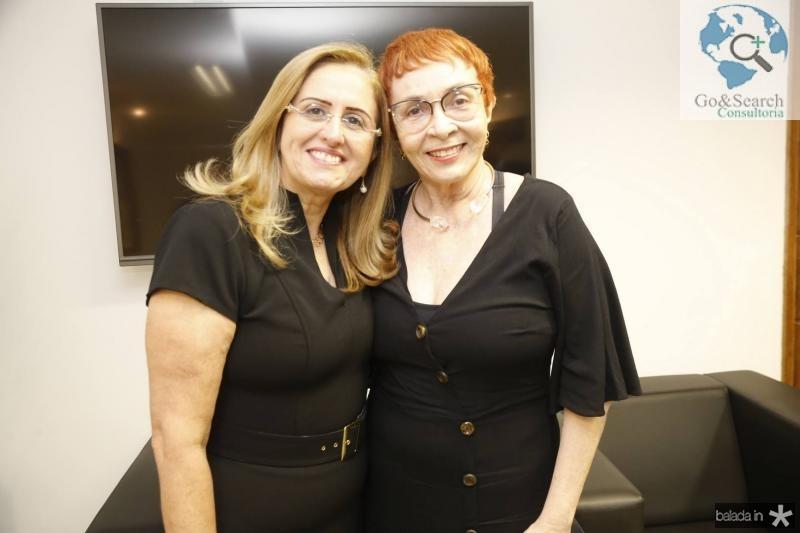 Edna Cavalcante e Eugenia Nogueira