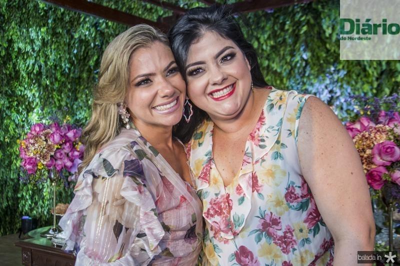Vanessa Queiros e Viviane Almada
