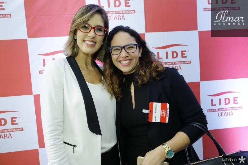 Marilia Fiuza e Patricia Rocha Lima