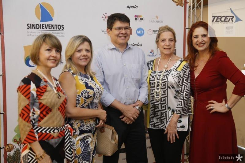 Circe Jane, Claudia Brilhante, Silvio Carlos, Anya Ribeiro e Enid Camara