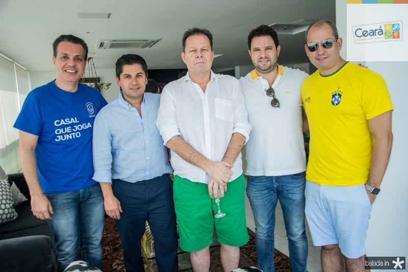 Leonardo Dallolio, Pompeu Vasconcelos, Julio Ventura, e Andre Linheiro