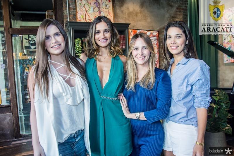 Larissa Cavalcante, Lu Palhano, Irady Linhares e Rayana Dias