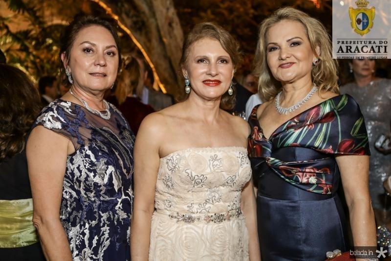 Paula Frota, Renata Jereissati e Lenise Rocha