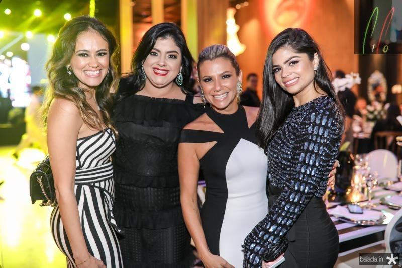 Mirela Bezerra, Viviane Barreto, Vanessa Queiros e Isabele Timoteo