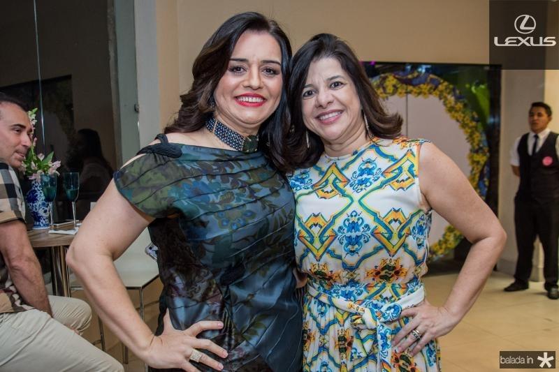 Lia Freire e Luciana Lobo