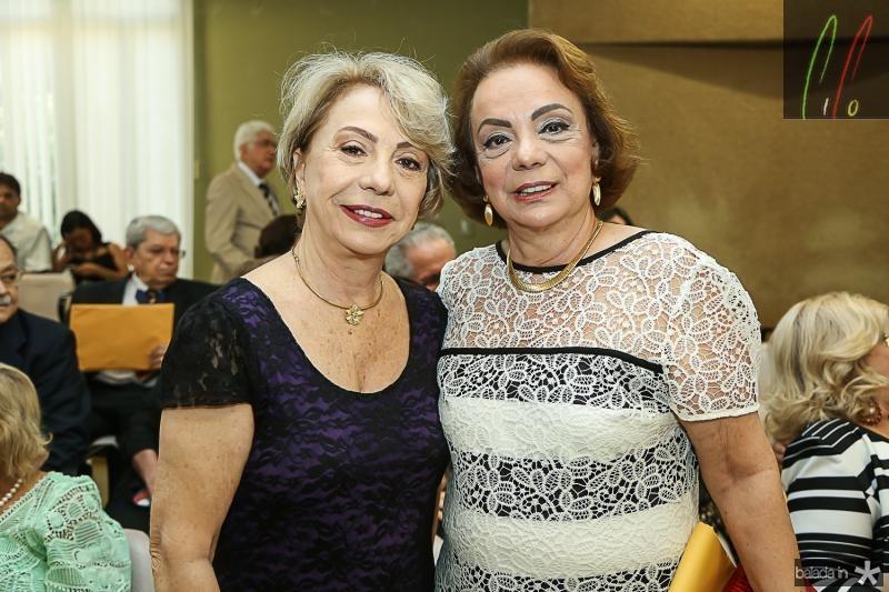 Isabel Rosario e Beatriz Alcantara